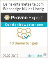 Erfahrungen & Bewertungen zu Deine-Internetseite.com Webdesign Niklas Hornig