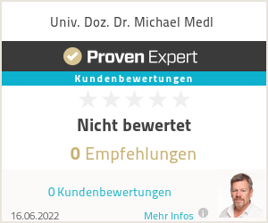 Erfahrungen & Bewertungen zu Univ. Doz. Dr. Michael Medl