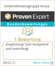 Erfahrungen & Bewertungen zu Unternehmensgruppe Kruse