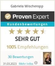 Erfahrungen & Bewertungen zu Gabriela Wischeropp