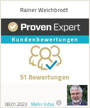 Erfahrungen & Bewertungen zu Rainer Weichbrodt