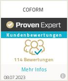 Erfahrungen & Bewertungen zu Dinamia Design / Coform