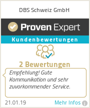 Erfahrungen & Bewertungen zu DBS Schweiz GmbH