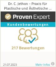 Erfahrungen & Bewertungen zu Dr. C. Jethon - Praxis für Plastische und Ästhetische Chirurgie