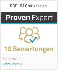 Erfahrungen & Bewertungen zu PODIUM Grafikdesign