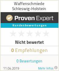 Erfahrungen & Bewertungen zu Waffenschmiede Schleswig-Holstein