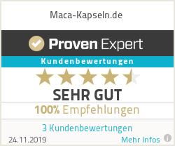 Erfahrungen & Bewertungen zu Maca-Kapseln.de