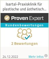 Erfahrungen & Bewertungen zu Isartal-Praxisklinik München für plastische und ästhetische Chirurgie