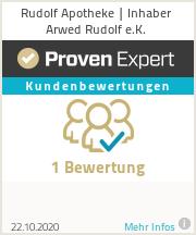 Erfahrungen & Bewertungen zu Rudolf Apotheke | Inhaber Arwed Rudolf e.K.