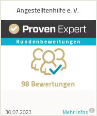 Erfahrungen & Bewertungen zu Angestelltenhilfe e. V.