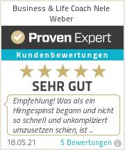 Erfahrungen & Bewertungen zu Life Coach Nele Weber
