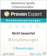 Erfahrungen & Bewertungen zu Adventure Sports Friedrichshafen