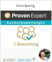 Erfahrungen & Bewertungen zu Chris B