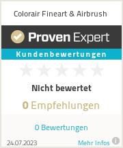 Erfahrungen & Bewertungen zu Colorair Fineart & Airbrush