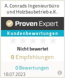 Erfahrungen & Bewertungen zu A.Conrads Ingenieurbüro und Holzbaubetrieb e.K.