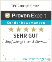 Erfahrungen & Bewertungen zu TPC Concept GmbH