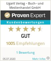 Erfahrungen & Bewertungen zu Ugarit Verlag - Buch- und Medienhandel GmbH