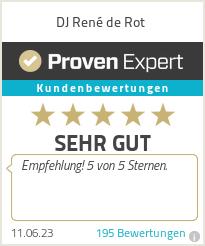 Erfahrungen & Bewertungen zu Oldenburger Soundexpress - DJ René de Rot
