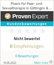 Erfahrungen & Bewertungen zu Praxis für Paar- und Sexualtherapie in Göttingen & Bad Gandersheim