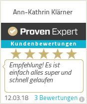 Erfahrungen & Bewertungen zu Ann-Kathrin Klärner