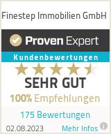 Erfahrungen & Bewertungen zu Finestep Immobilien GmbH
