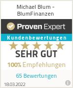 Erfahrungen & Bewertungen zu Michael Blum - BlumFinanzen
