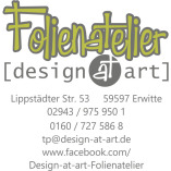 Folienatelier design at art