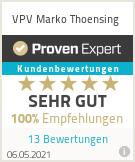 Erfahrungen & Bewertungen zu VPV Marko Thoensing