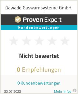 Erfahrungen & Bewertungen zu Gawado Gaswarnsysteme GmbH