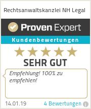 Erfahrungen & Bewertungen zu Rechtsanwaltskanzlei NH Legal