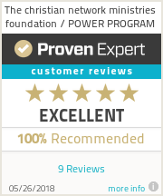 Ratings & reviews for The christian network ministries foundation / POWER PROGRAM