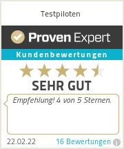 Erfahrungen & Bewertungen zu Testpiloten.info - Online-Umfragen und Produkttests