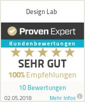 Erfahrungen & Bewertungen zu Design Lab