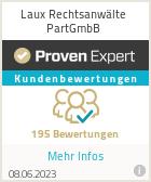 Erfahrungen & Bewertungen zu Laux Rechtsanwälte PartGmbB