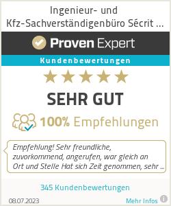 Erfahrungen & Bewertungen zu Ingenieur- und Kfz-Sachverständigenbüro Sécrit