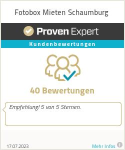 Erfahrungen & Bewertungen zu Fotobox Mieten Schaumburg