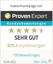 Erfahrungen & Bewertungen zu maklerhomepage.net
