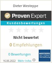 Erfahrungen & Bewertungen zu Dieter Westeppe
