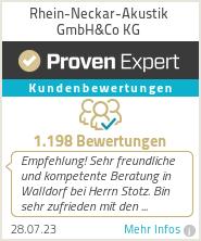 Erfahrungen & Bewertungen zu Rhein-Neckar-Akustik GmbH&Co KG