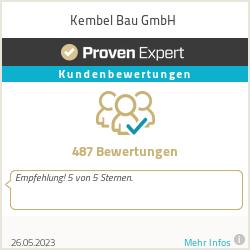 Erfahrungen & Bewertungen zu Kembel Bau GmbH