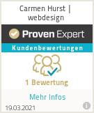 Erfahrungen & Bewertungen zu Carmen Hurst | webdesign