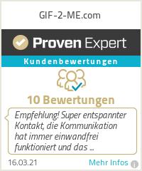 Erfahrungen & Bewertungen zu GIF-2-ME.com