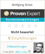 Erfahrungen & Bewertungen zu Wolfgang Strack