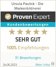 Erfahrungen & Bewertungen zu Ursula Paulick - Die Markenbildnerei
