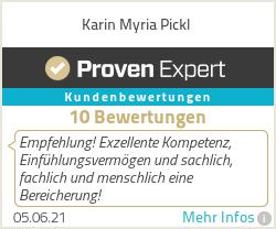 Erfahrungen & Bewertungen zu Karin Myria Pickl