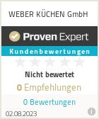 Erfahrungen & Bewertungen zu WEBER KÜCHEN GmbH