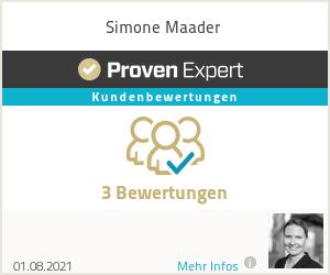 Erfahrungen & Bewertungen zu Simone Maader