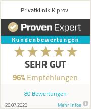Erfahrungen & Bewertungen zu Privatklinik Kiprov