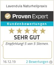 Erfahrungen & Bewertungen zu Lavendula Naturheilpraxis