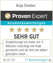 Erfahrungen & Bewertungen zu Anja Stieber